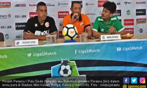 Menang Lawan Bhayangkara FC, Perseru Ogah Jumawa Lawan PSMS