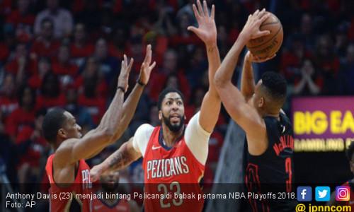 NBA Playoffs 2018: Pelicans Lolos ke Semifinal Wilayah Timur
