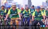Aksi Sepeda Santai Mayday Meriahkan CFD Bekasi - JPNN.COM