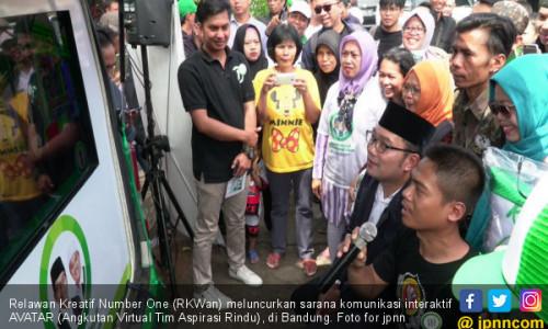 Relawan RINDU Luncurkan Interaktif AVATAR