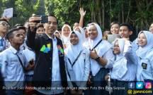 Tebar Ribuan KIP, Jokowi Cuma Bilang Ini ke Ratusan Guru - JPNN.COM