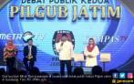 Debat Cagub Jatim: Gus Ipul Bersyukur Ada Pak Jokowi - JPNN.COM