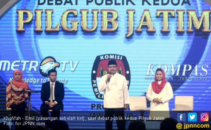 Survei Pilgub Jatim 2018: Khofifah - Emil Unggul Jauh