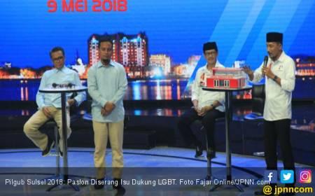 Pilgub Sulsel 2018: Paslon Diserang Isu Dukung LGBT