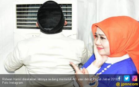 Bukannya Peluk Istri Dulu, Kang Emil Malah Pilih AC