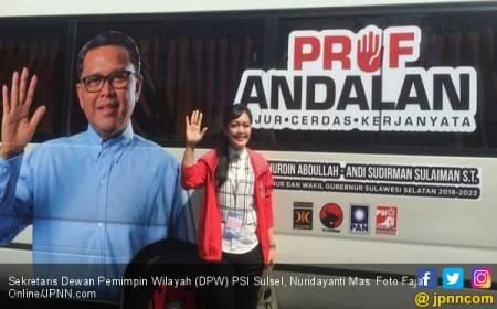 Pilgub Sulsel 2018: PSI Masif di Media Sosial