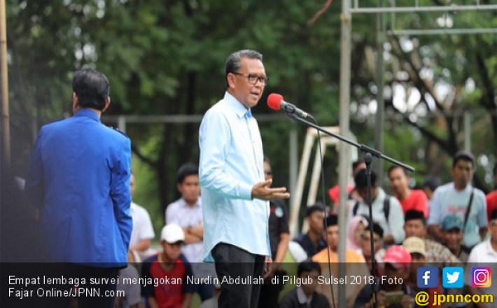 Survei Pilgub Sulsel 2018: 4 Lembaga Unggulkan Calon PDIP