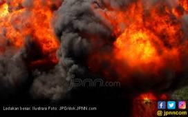 Ledakan Dahsyat, Mapolsek Giligenting Hancur - JPNN.COM