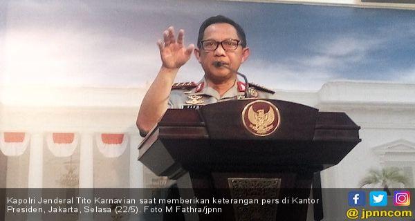 Kapolri: Apresiasi dan Terima Kasih kepada Bapak Prabowo - JPNN.COM