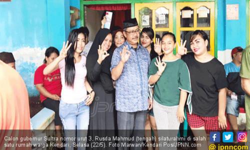 Pilgub Sultra 2018: Sambutan Warga Bikin Optimistis