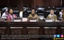 Paripurna DPD RI Mengesahkan Penambahan Kursi Pimpinan - JPNN.COM