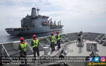 Kapal Perang TNI AL dan AS Gelar Latihan Bersama - JPNN.COM