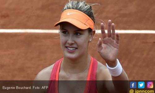 Eugenie Bouchard Telan Pil Pahit di Roland Garros