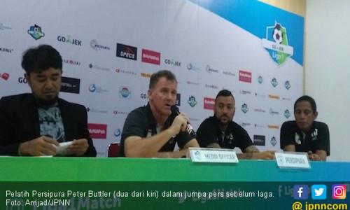 Peter Buttler Dipecat Persipura Jayapura