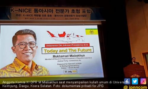 Beri Kuliah Umum di Korea, Misbakhun Paparkan Ikhtiar Jokowi