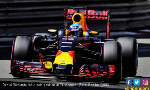 Pertarungan Ricciardo Kunci Pole F1 Monaco Tanpa Rekan Setim