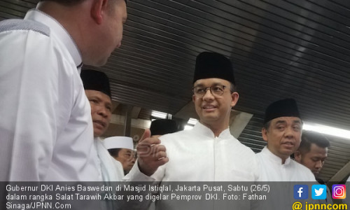 Tarawih Akbar Jadi Rekor Baru Pemprov DKI