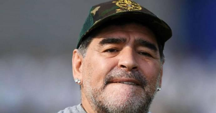 Diego Maradona. Foto: AFP
