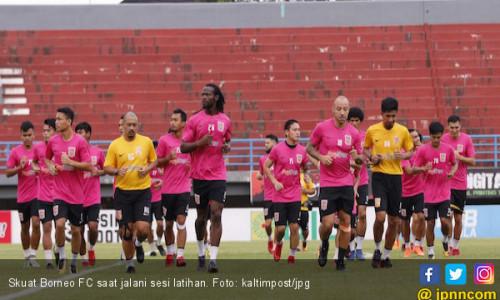 Borneo FC Agendakan Uji Coba Dua Kali Lagi