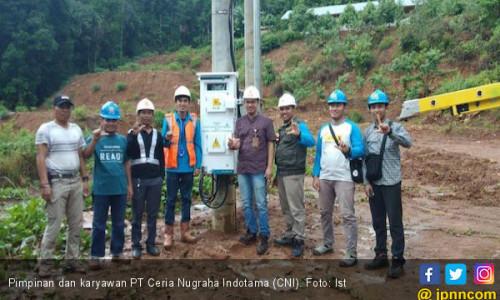 Komitmen Membangun Daerah, PT CNI Bayar Pajak Rp 105 Miliar