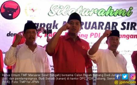 Bang Ara Siap All-Out di Subang demi Menangkan Dedi-Budi