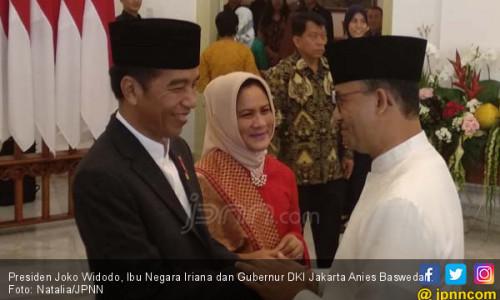 Anies - Sandi Mesra Saat Bertemu Jokowi