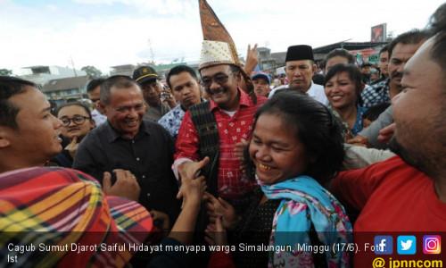 Djarot Ajak Warga Sumut Memilih Pemimpin Bersih dan Melayani