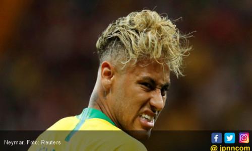 Viral! Ada Semangkuk Pasta di Kepala Neymar