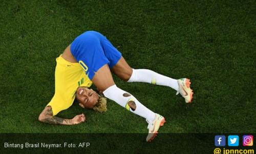 Piala Dunia 2018: Terlalu Egois, Neymar Bencana Bagi Brasil