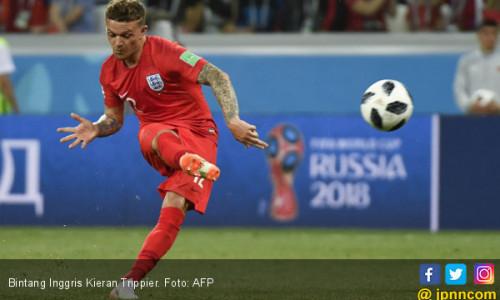Piala Dunia 2018: Kieran Trippier Jadi Titik Terang Inggris