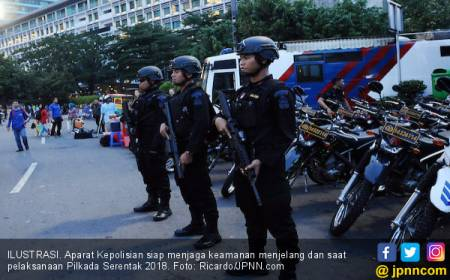 2.500 Personel Gabungan Jaga Pelaksanaan Pilkada Kota Bekasi