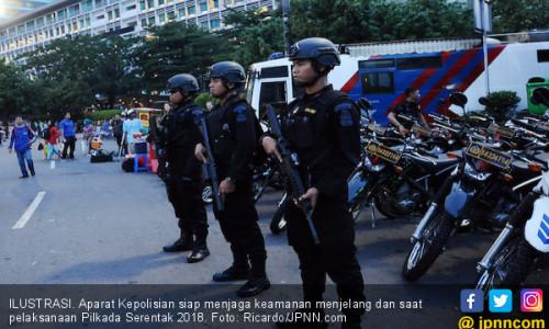 Kapolda dan Pangdam Memonitor Kesiapan Pengamanan Pilkada
