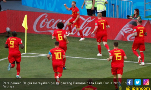Klasemen Piala Dunia 2018 Usai Inggris dan Belgia Pesta Gol