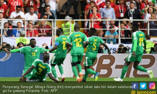 Detik - Detik Gol Kontroversial Senegal ke Gawang Polandia