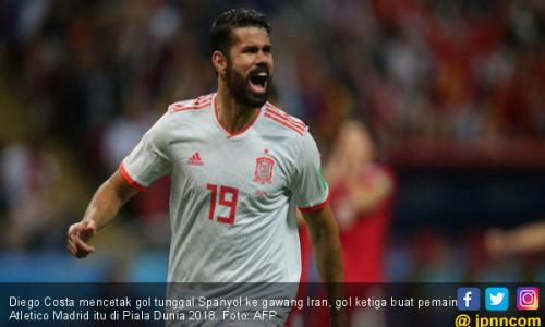 Dramatis, Spanyol Kalahkan Iran dengan Bantuan VAR