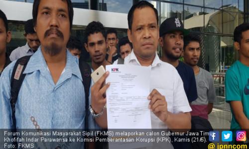 FKMS Laporkan Khofifah ke KPK Jelang Pilkada Jatim 2018