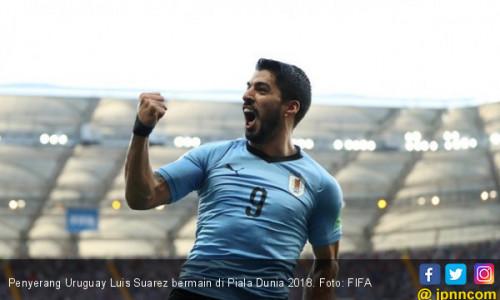 Luis Suarez Bertabur Rekor di Piala Dunia 2018