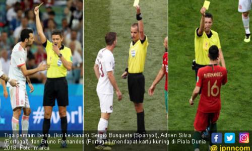 Lantaran Kartu Kuning, Spanyol Pimpin Grup B, Bukan Portugal