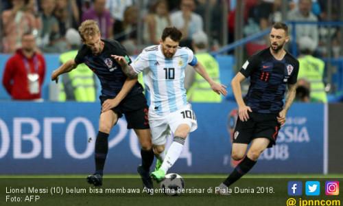Kroasia ke 16 Besar, Nasib Argentina di Tangan Nigeria