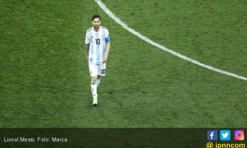 Lionel Messi cs Catat Rekor Buruk Argentina Sejak 1958