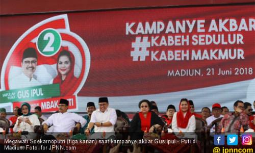 Megawati: Jatim Tenteram jika Dipimpin Nasionalis-Nahdiyin