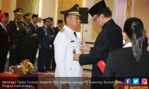 Mendagri Lantik Eko Subowo sebagai Pj Gubernur Sumut
