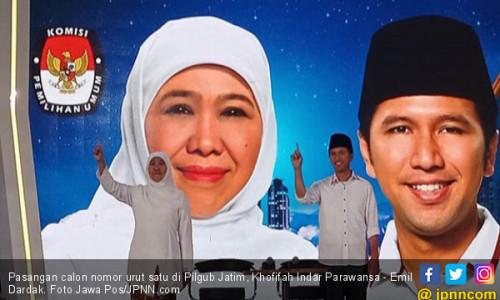 Survei Pilgub Jatim 2018: Khofifah Menang