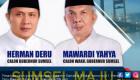 Pasangan Herman-Mawardi Unggul di Pilgub Sumsel