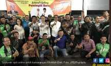 Khofifah-Emil Menang, Ojek Online Gelar Syukuran