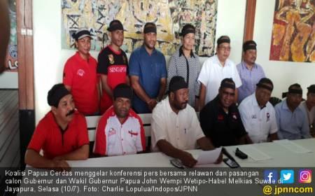Koalisi Papua Cerdas Tolak Hasil Pilkada