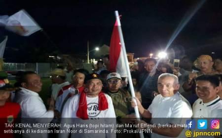 Jago PKS-Gerindra Menang Pilkada, Relawan Jalan Kaki 29 Jam