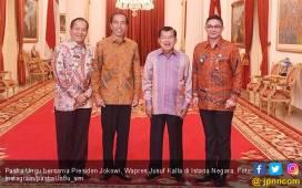 Berpose Bareng Jokowi, Pasha Ungu Diminta Jadi Presiden - JPNN.COM
