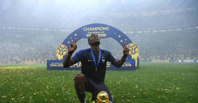 Paul Pogba. Foto: AFP