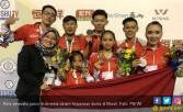 Ikuti Muhammad Zohri, Atlet Wushu Indonesia Jadi Juara Dunia - JPNN.COM